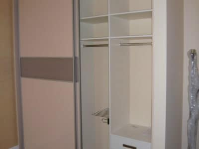 Шкаф-Купе Встроенный в Нишу 2 Двери ЛДСП