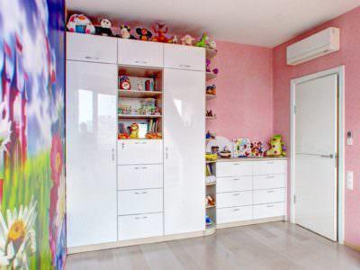 Шкаф-Распашной в Детскую комнату+Комод