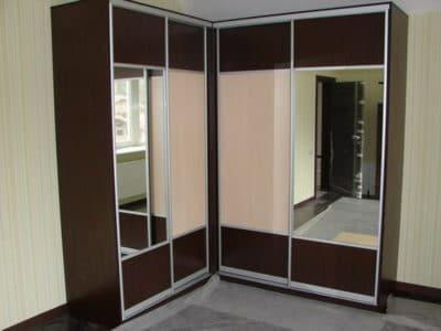 Шкаф-Угловой ЛДСП + Зеркало